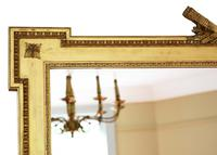Large Gilt 19th Century Overmantle or Wall Mirror (2 of 7)