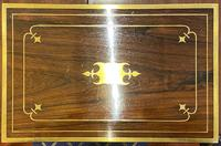 Good Quality Rosewood Writing Slope / Box by the Famous Maker William Eyre (9 of 12)