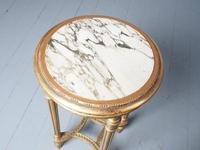 Antique Louis XV Style Giltwood Occasional Table (3 of 8)