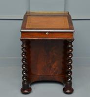 William IV Flame Mahogany Davenport Desk (2 of 18)