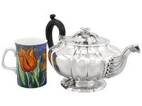Sterling Silver Teapot by Paul Storr - Antique George IV 1827 (3 of 12)