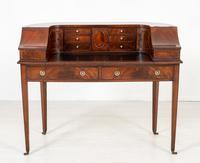 Regency Style Mahogany Carlton House Desk c.1900 (2 of 11)