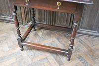 Early Oak Country  Side Table (4 of 6)