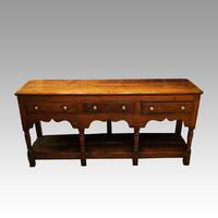 Antique Georgian oak pot board dresser