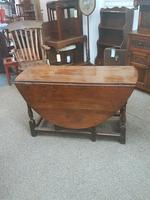 Antique Gateleg Table (5 of 8)