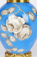 Rosenthal German Porcelain Lidded Jar & Cover with En Grisaille Roses Decoration c.1935 (9 of 15)