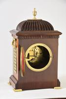 Brass Inlaid Mahogany Bracket Clock (5 of 5)