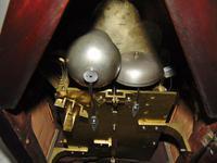 Regency Mahogany Gothic Bracket Clock (9 of 12)