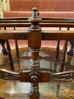 Most Unusual & Very High-quality Rosewood 3-section Canterbury of Oval Shape (3 of 6)