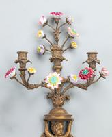 Well Formed Pair of Mid 19th Century Bronze Wall Lights (2 of 7)