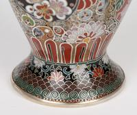Oriental, Chinese / Japanese Exceptional Silver Metal Cloisonne Vase (21 of 25)