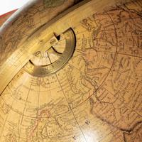 12 inch Franklin terrestrial table globe by Nims & Co, New York (3 of 4)