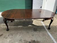 Antique Mahogany 8Ft Wind Out Extending Dining Table (2 of 14)