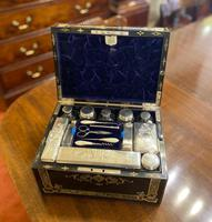Superb Fitted Ladies Dressing / Jewellery Box (3 of 10)