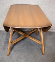 Vintage Ercol Drop Leaf Dining Table Golden Dawn (4 of 10)