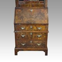 19th Century Walnut Bureau Bookcase (2 of 19)