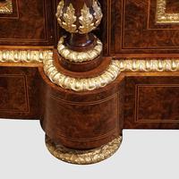 Fine Victorian Inlaid Walnut Credenza (9 of 15)