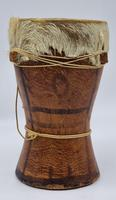 Small Handcrafted African Bongo with Genuine Hide (7 of 8)