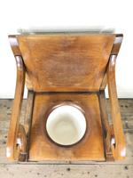 19th Century Oak Armchair Commode (5 of 10)