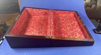 William IV Pewter Inlaid Rosewood Box (4 of 18)