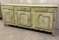 French early oak sideboard
