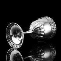 Antique Solid Silver Goblet / Cup with Roman Frieze - Elkington & Co 1902 (11 of 16)