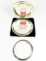Solid Silver Compact Mirror For Pressed Face Powder (3 of 6)