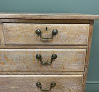 Superb Quality Limed Oak Antique Chest of Drawers (7 of 8)