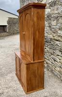 Antique Victorian Pine Shelved Larder Cupboard (4 of 19)