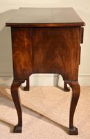 George III Lowboy on Square Cabriole Legs (3 of 7)