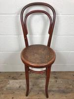 Small Red Bentwood Chair (3 of 8)