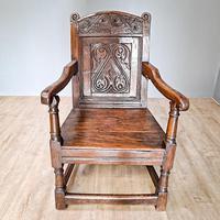 17th Century Wainscot Chair (2 of 5)