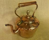Traditional 5 Pint Antique Copper Kettle (2 of 5)