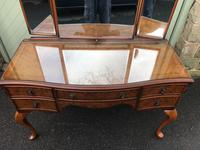 Antique Burr Walnut Dressing Table (4 of 10)