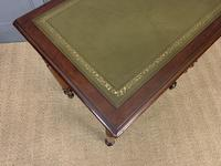 Victorian Mahogany 2 Drawer Writing Table (13 of 13)