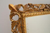 Antique French Carved Giltwood Mirror (5 of 10)
