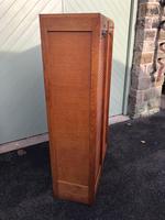 Antique Oak Double Filing Cabinet (3 of 10)