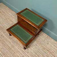 Stunning Victorian Mahogany Antique Library Steps (4 of 4)