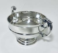 Large Antique Solid Silver Punch Bowl (5 of 12)