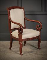 Pair of French Mahogany Empire Chairs (10 of 13)