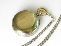 Antique Waltham Pocket Watch & Chain (4 of 4)