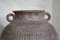 Large Mediterranean Earthenware Floor Vase with Loop Handles (8 of 10)