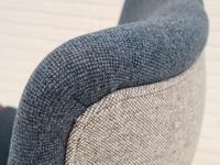 Danish Design 1960s, Restored Armchair, Nevotex Furniture Wool (5 of 14)