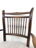 Antique 19th Century Spindle Back Chair (10 of 13)