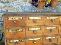 Charming Set of Antique Apothecary Drawers (5 of 10)