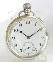 Silver Record Pocket Watch, 1935 (2 of 5)