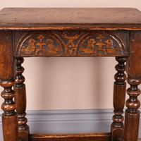 Carved Oak Joint Stool (14 of 15)