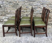 Set of 6 Georgian Mahogany Dining Chairs (2 of 21)