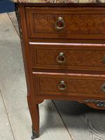 French Parquetry Commode Chest of Drawers (25 of 27)