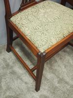 Pair of George III Mahogany Dining Chairs (5 of 10)